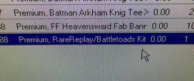 RareReplay gelistet bei GameStop