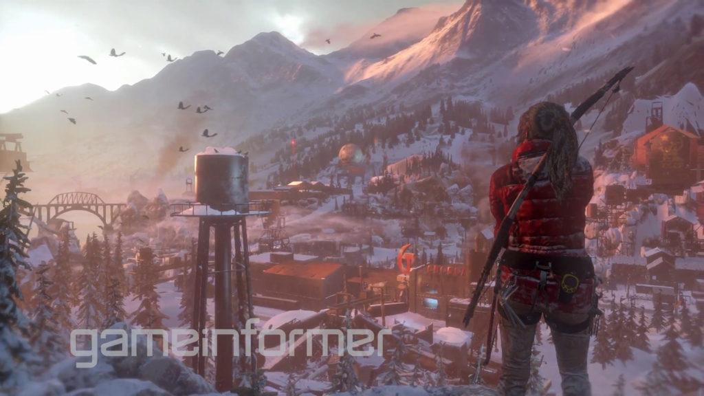 März-Cover von Game Informer zu Rise of the Tomb Raider