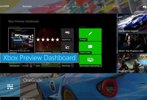 New Xbox One Experience - Wir haben uns das erste Update von OneCore angesehen