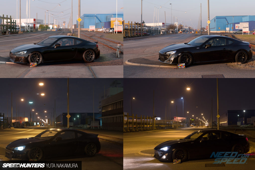Need for Speed Game Engine Vergleichsbild