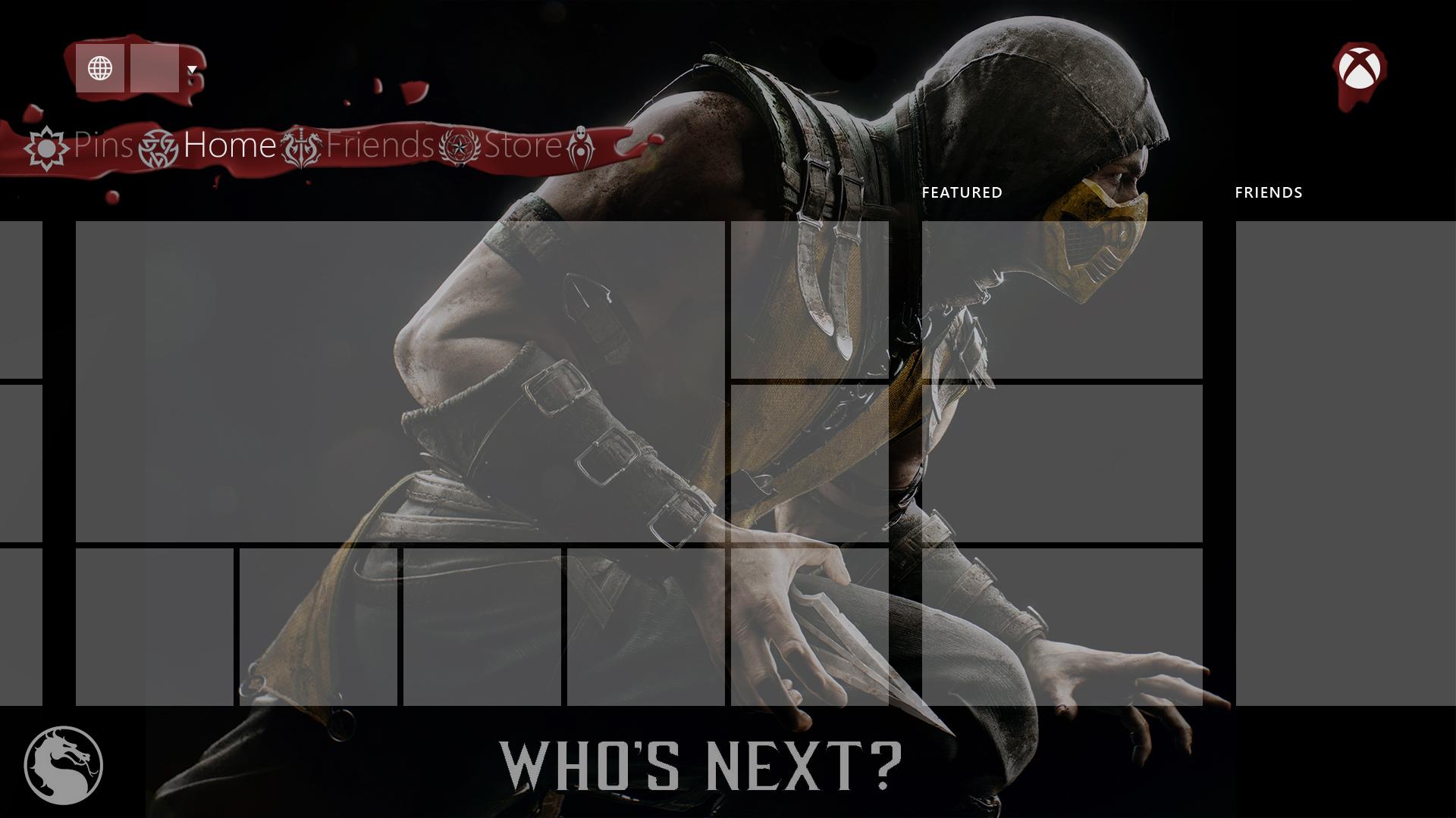Mortal Kombat X - Hintergrundbild