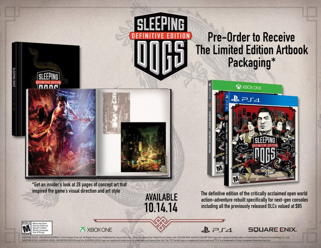 Sleeping Dogs: Definitive Edition: Limited Edition