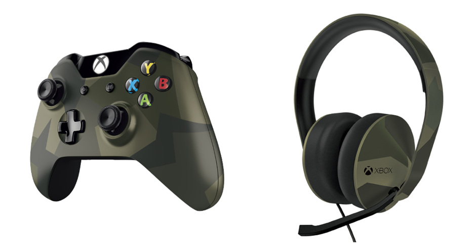 Armed Forces Controller und Headset