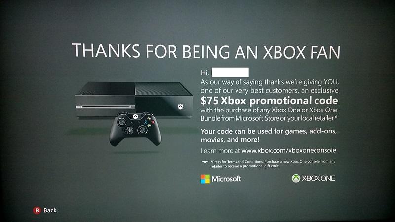 Xbox 360-Promo