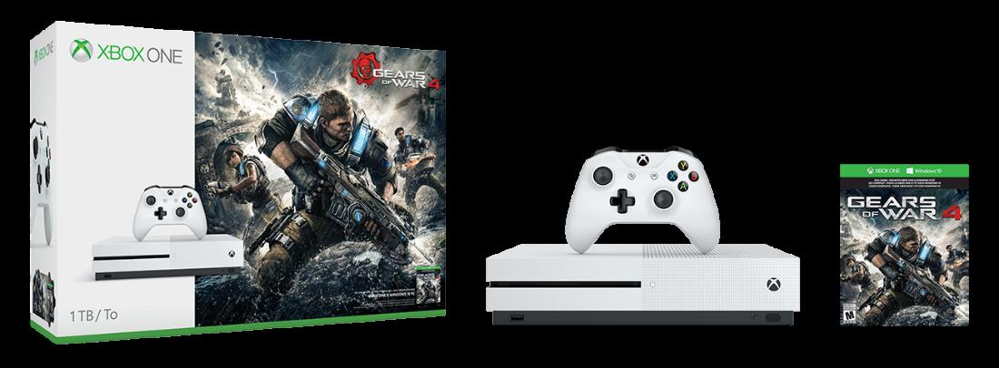 Xbox One S Gears of War 4 Bundle