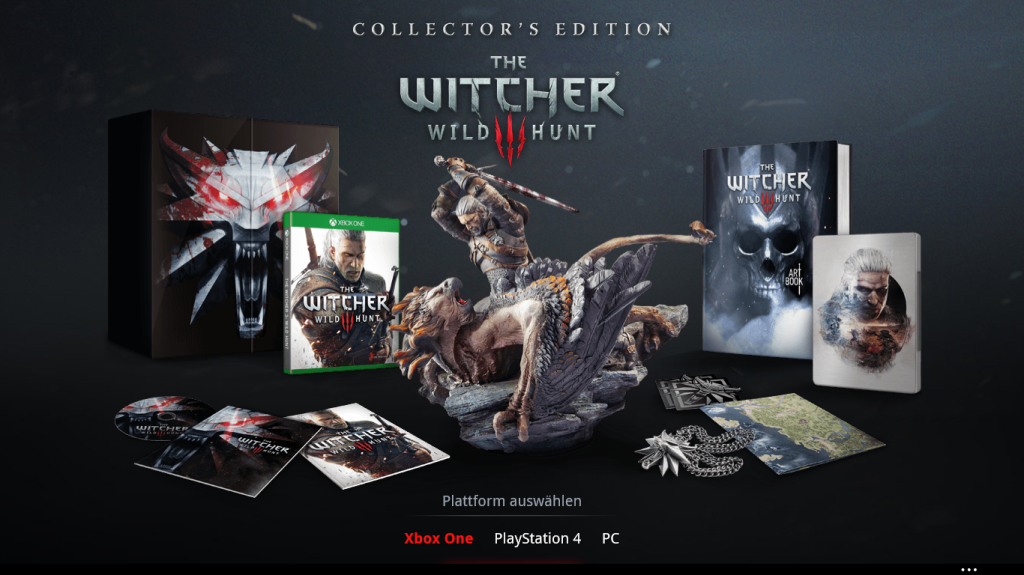 The Witcher 3: Wild Hunt Collectors Edition