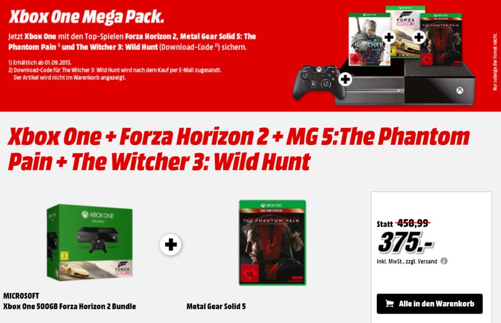 Xbox One Media Markt Angebot