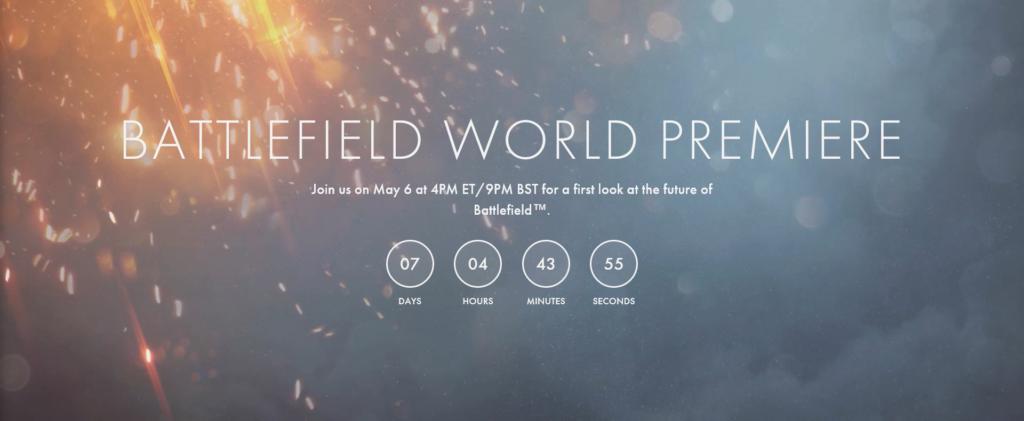 Battlefield Premiere Countdown