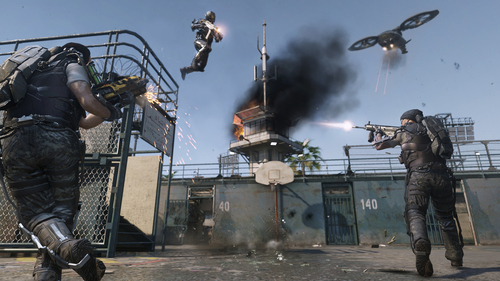 Call of Duty: Advanced Warfare - Multiplayer-Gameplay