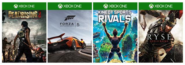 Im Preis gesenkte Xbox One-Titel