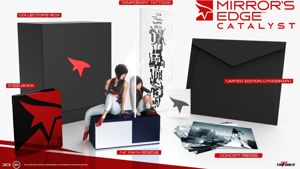 Mirrors Edge: Catalyst Collectors Edition