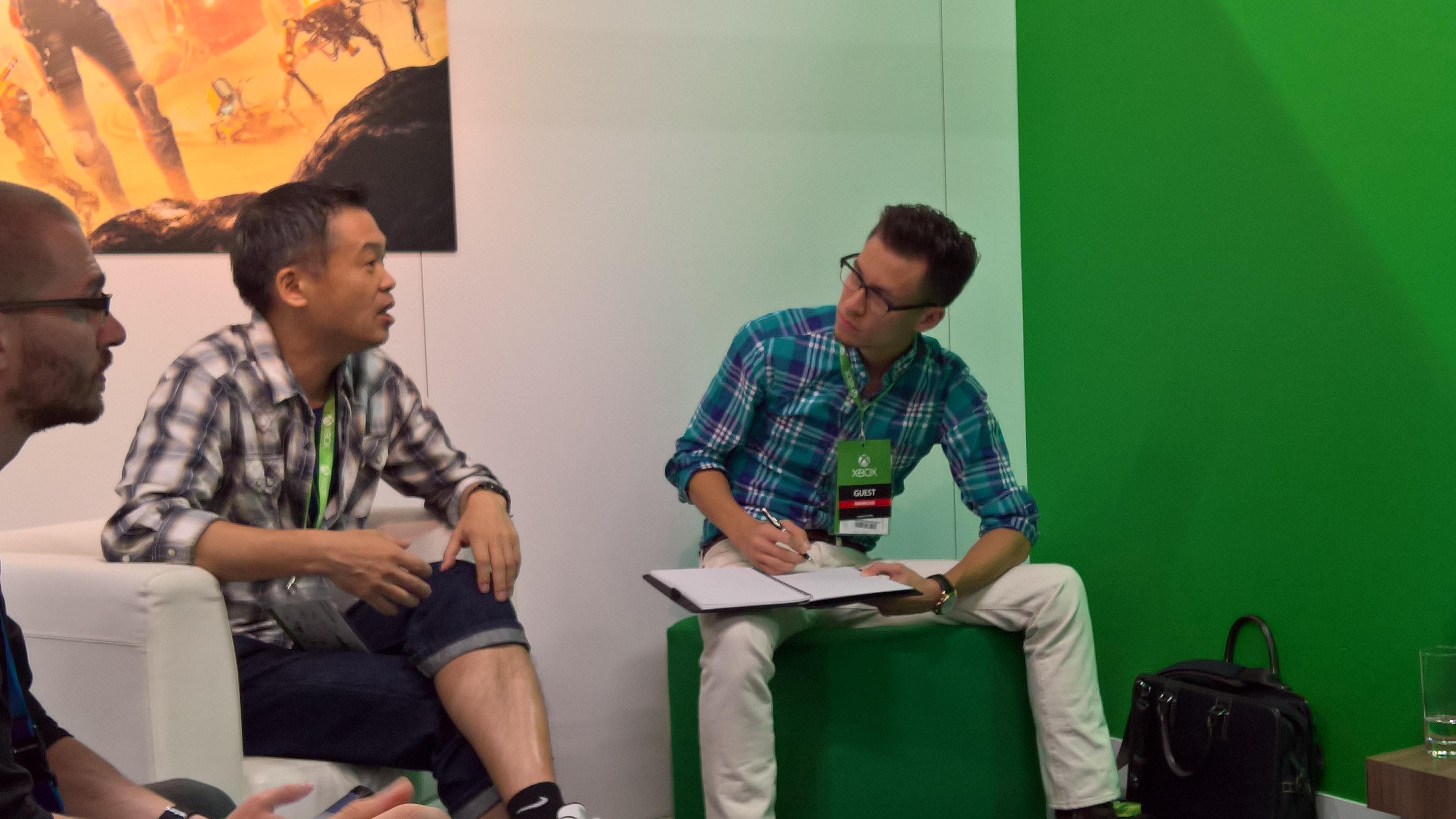 Keiji Inafune präsentierte uns auf der gamescom seinen neuen Titel ReCore