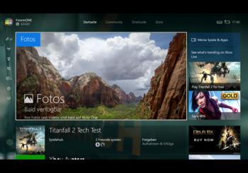 Xbox One Universal Apps - Bald kommt auch die Foto App