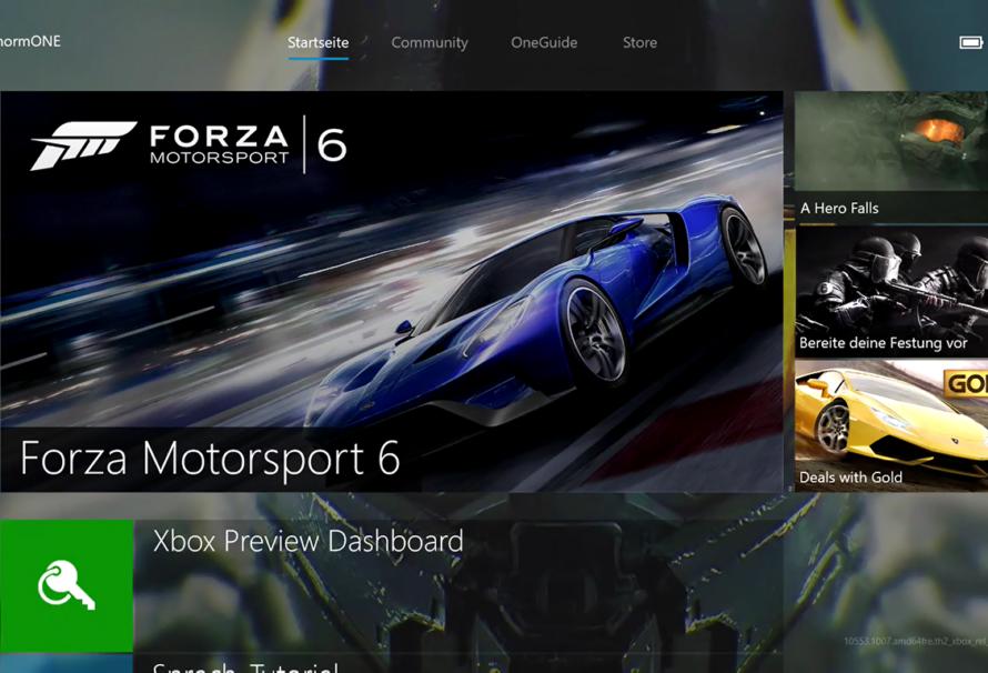 Xbox One – Alle neuen Features des Februar-Updates auf einen Blick