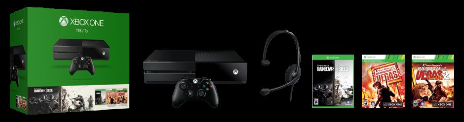 Xbox One Tom Clancy's Rainbow Six Siege Bundle