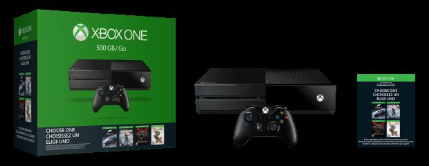 Xbox One Wähle dein Spiel Bundle