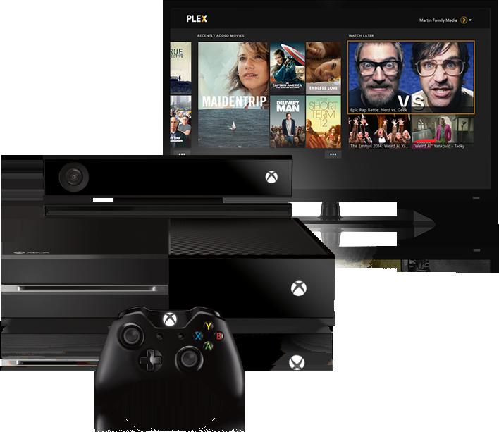 Plex für Xbox