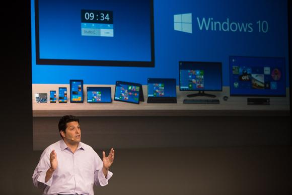 Terry Myerson spricht über Windows 10