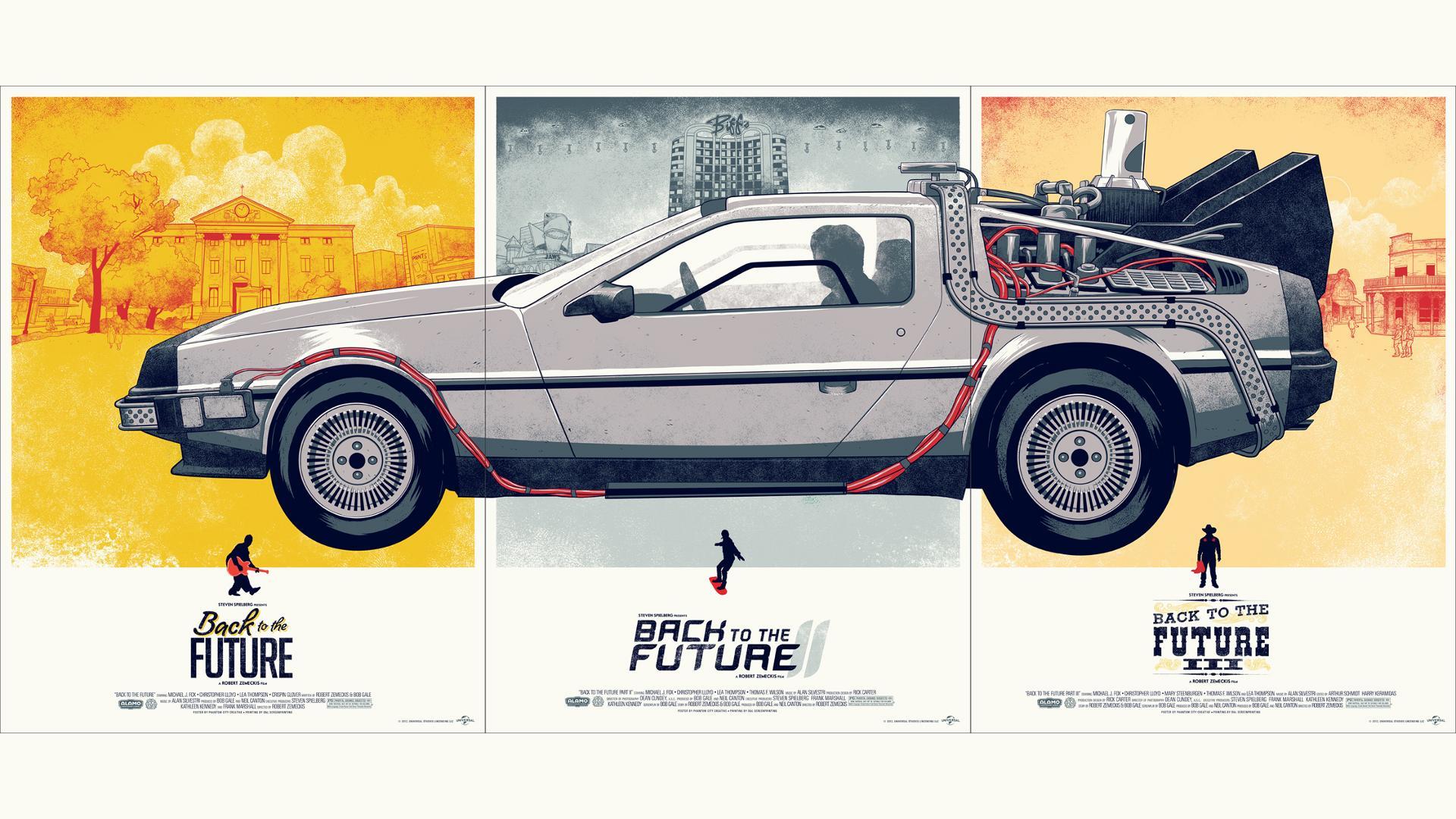 Zurück in die Zukunft - Hintergrundbild