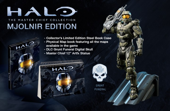 Halo: The Master Chief Collection MJOLNIR-Limited-Edition