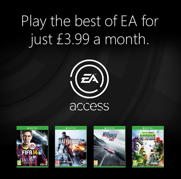 EA Access-Angebot