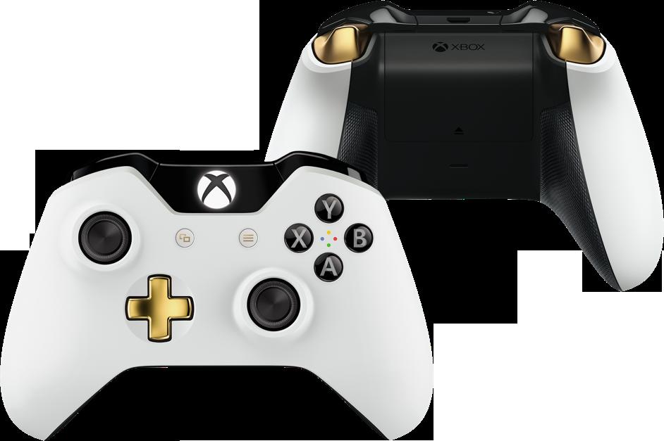Xbox One Lunar White Wireless Controller