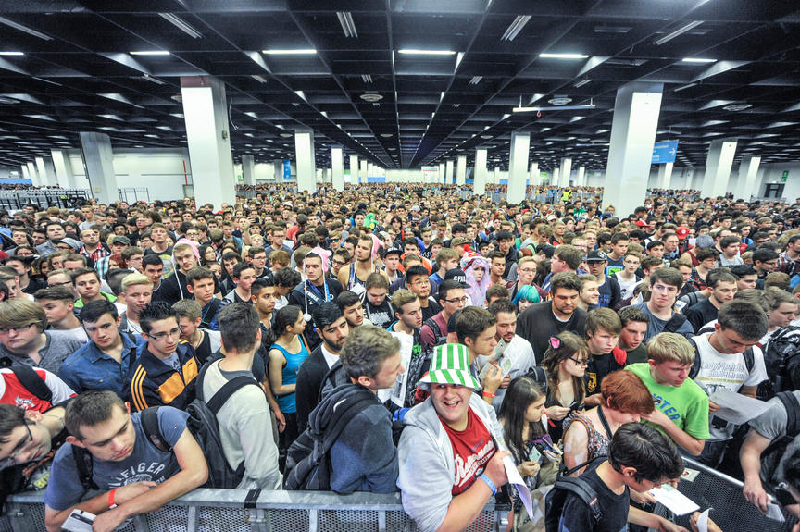 gamescom 2014 - Crowd