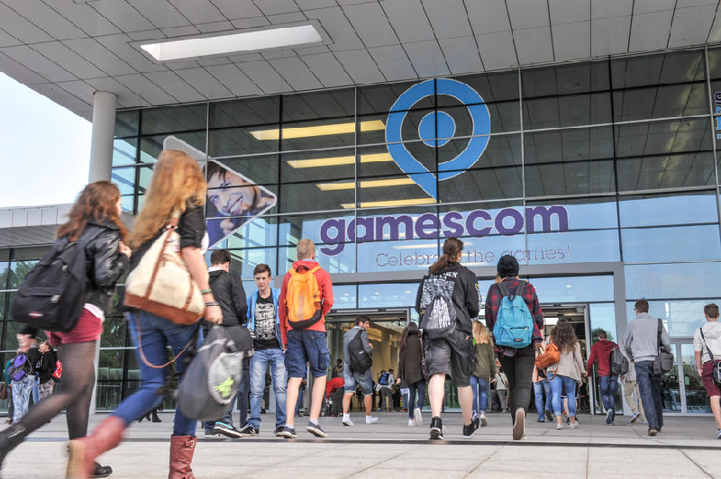 gamescom 2014 Einlass