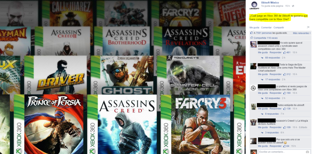 Ubisofts mögliche abwärtskompatible Spiele für Xbox One