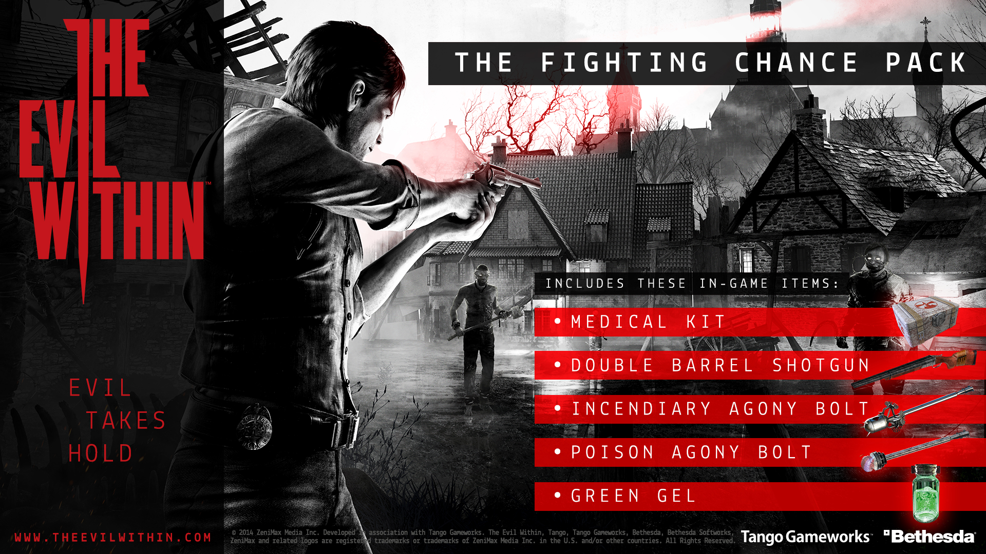 the evil within fighting chance