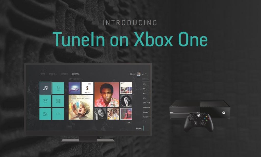 TuneIn Radio App für Xbox One