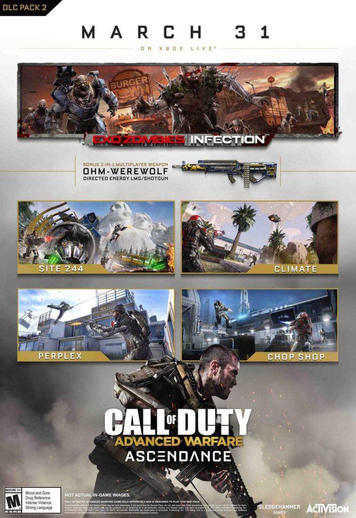 CoD: Advanced Warfare Second DLC Pack Ascendance