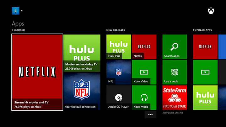 Netflix App auf Xbox One